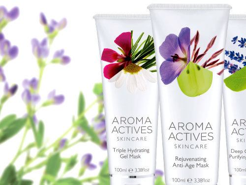 Aroma Actives Magento Web Site